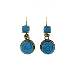 Exoal earrings - Blue