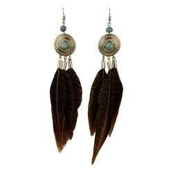 Earrings - Feathers