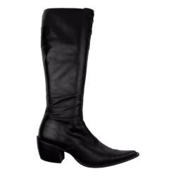 Zwarte punt laarzen