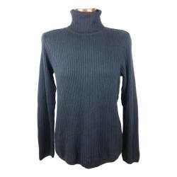 H&M - Donkerblauwe kol trui