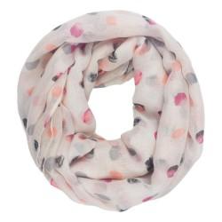 Sjaal - Pastelkleur stippen