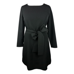 B Three - Black dress