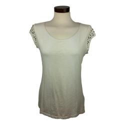 Esprit - Wit t-shirt met studs