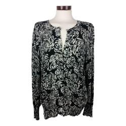 Zwart/wit vestje