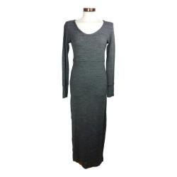 Penn & Ink - Lange grijze jurk