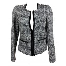 Pull & Bear - Zwart/wit jasje